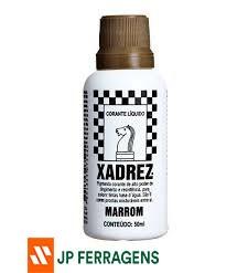 CORANTE  LIQUIDO XADREZ MARROM 50 G