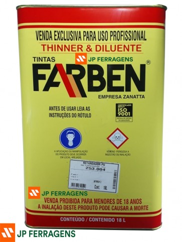253004 RETARDADOR PU 18 LT FARBEN