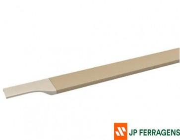 RM-183 PERFIL PUXADOR FACETATO CHAMPAGNE 6 M ROMETAL