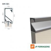 RM-181/RM-180 KIT PERFIL PUXADOR SPECIALE INOX POLIDO 6 MT ROMETAL