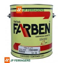 243420 VERNIZ PU FOSCO 3,6 LT FARBEN