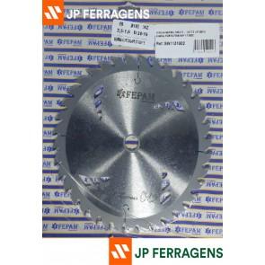 SERRA 185 X 36 L 1,6 C 2,5 F 20/16 P/ MAQUINAS PORTATEIS REF SW1151802