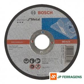 DISCO DE CORTE BOSCH 115X3,0X22,23 MM
