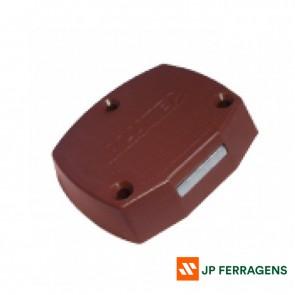 60018 - FECHADURA PLASTICA MARROM ALUTEC