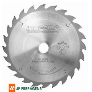 802501 - SERRA CIRCULAR 250 X 24 DENTES INDFEMA