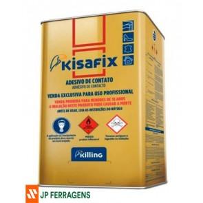 KISAFIX COLA CONTATO  EXTRA 14 KG 18 L KFE/H18