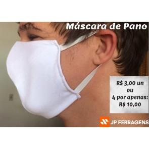 MASCARA DE MALHA BRANCA