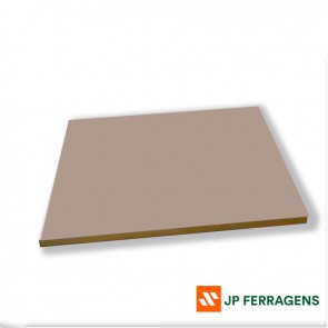 MDF 15 MM LACA FUME BRILHO 2,75 X 1,85 EUCATEX