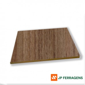 MDF 15 MM NOGAL EBANO 2,75 X 1,85 EUCATEX