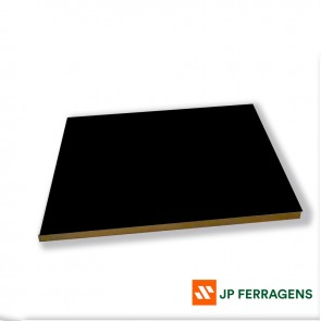 MDF 15 MM PRETO TX 2 FACES 2,75 X 1,85 FIBRAPLAC