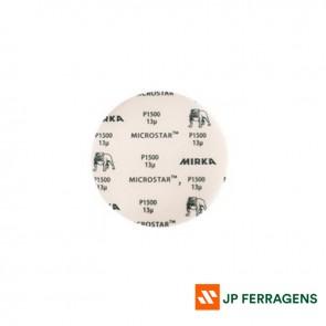 """LIXA HOOKIT MICROSTAR 6""""/150 MM # 1000 MIRKA ( COM VELCRO )"""
