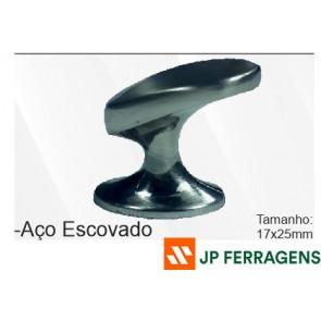 PUXADOR-IL809-017X025-AÇO ESCOVADO