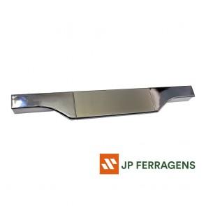 RM-183 PERFIL PUXADOR FACETATO SPECIALE INOX POLIDO 3 MT ROMETAL
